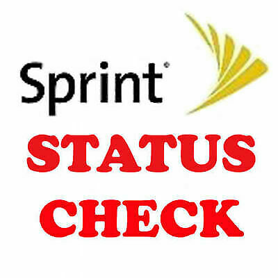 Sprint Apple IPhone Android USA Clean / Blocked/Unpaid IMEI Status Check Pro