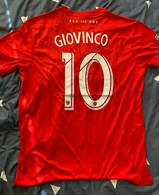 low priced 105ca 3794d 2019 SEBASTIAN GIOVINCO Toronto FC Home Soccer Jersey Red ...