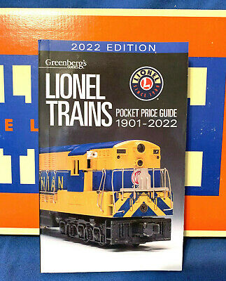 2020 Lionel Pocket Price Guide. Greenberg's Newest Edition  .....  Mint!     Y09