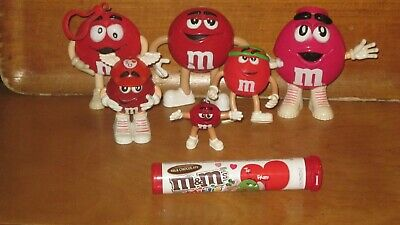 m&m's Collectible Red Character Lot