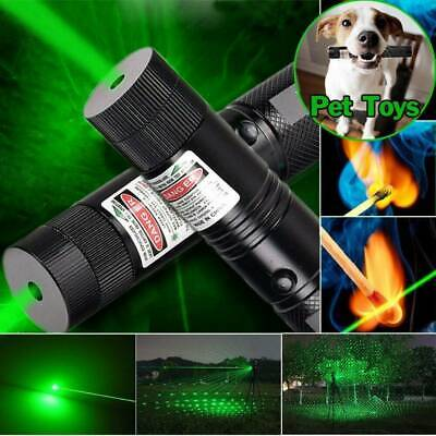 Military Powerful 303 Green Laser Pointer Pen + 18650 Battery AU STOCK