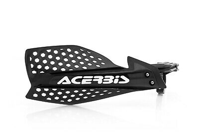 Acerbis X Ultimate Hand Guard Mx Motocross Enduro Universal Fitting Black White
