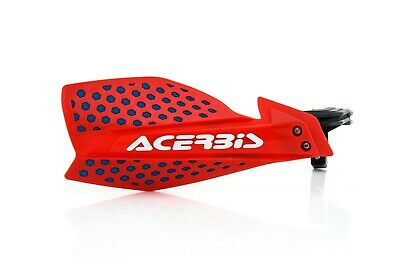 Acerbis X Ultimate Hand Guard Mx Motocross Enduro Universal Fitting Red Blue