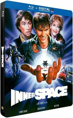 L'aventure Interieure  Innerspace Steelbook   Blu Ray Neuf Sous Cellophane