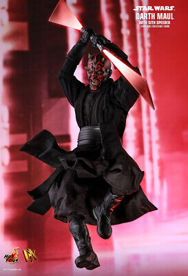 "Hot Toys 1/6 DX16 Star Wars The Phantom Menace Darth Maul 12""Action Figure"