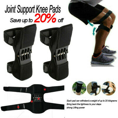 Power Leg Knee Stabilizer Pads Powerful Rebound Spring Force Support Knee Pad