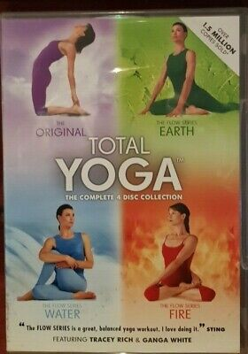 Total Yoga Collection (DVD, 2010, 4-Disc Set, Box Set)