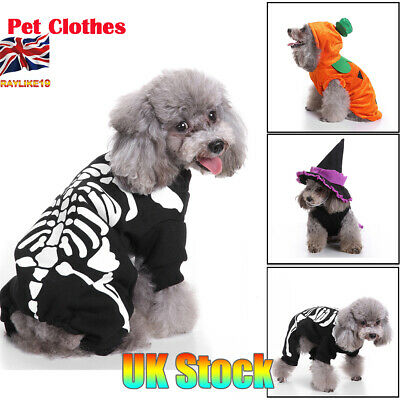 Halloween Pet Dog Clothes Horror Skeleton Clothes For Dogs Clothing Pet Clothes