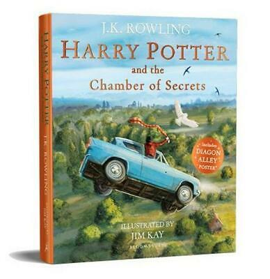 Harry Potter and the Chamber of Secrets: Illustrated Edition by J.K. Rowling Pap