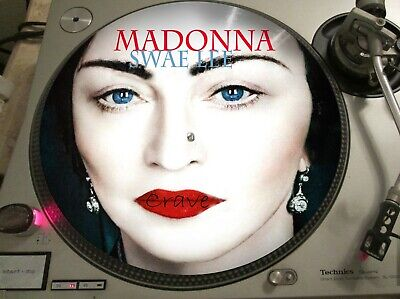 "Madonna + Swae Lee - Crave (Madame X) MEGA RARE 12"" PICTURE DISC SINGLE LP"