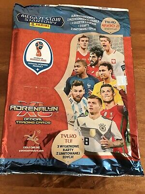 Panini Adrenalyn XL FIFA WORLD CUP 2018 STARTER PACK