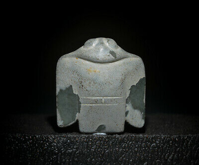 Excellent Chinese Ancient Hongshan Culture Jade Carved Eagle Amulet Pendant