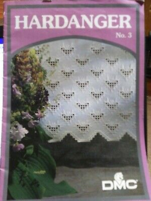 DMC Hardanger No 3 English Norwegian Danish Sewing Embroidery Threads Designs