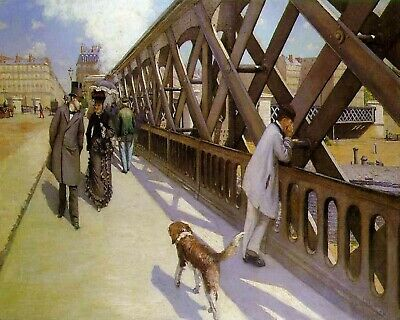 Le Pont de l'Europe by Gustave Caillebotte - Van-Go Paint-By-Number Kit (N132)