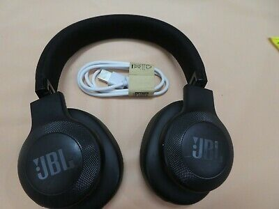 JBL E55BT Over-ear bluetooth Wireless Headphones Black