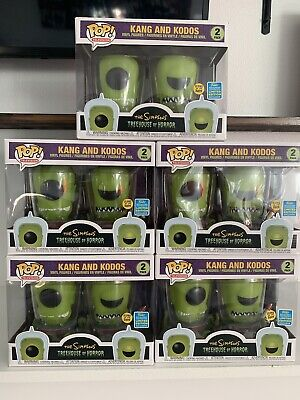 Funko POP! TV: Simpsons - Kang & Kodos 2 Pack - SDCC 2019 IN HAND SHIPS NOW