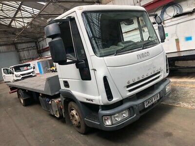 Iveco eurocargo 7.5t tilt and slide recovery truck.