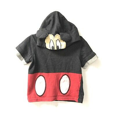 Mickey Mouse Clubhouse 18M Boys Hoodie Mickey Shirt D26