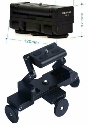 Foldable and Super Compact Table Top Dolly Pocket Skater similar to Edelkrone