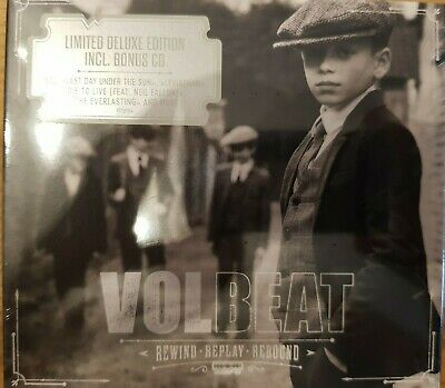 Volbeat Rewind Replay Rebound, 2 CD /Limited Deluxe Edition/2019/neu OVP