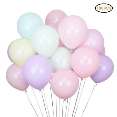 100pcs Birthday Wedding Baby Shower Party Pearl Latex Balloons 10inch baloons