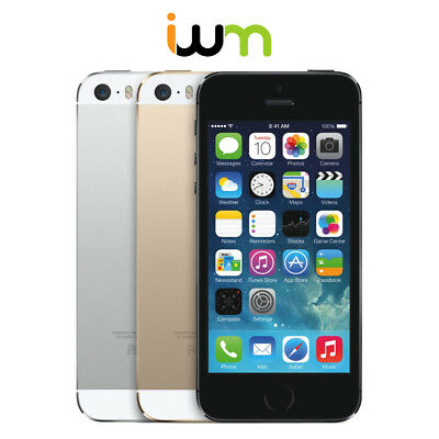 Apple iPhone 5S 16GB / 32GB / 64GB - Unlocked/ Verizon/ AT&T/ T-Mobile/ Sprint