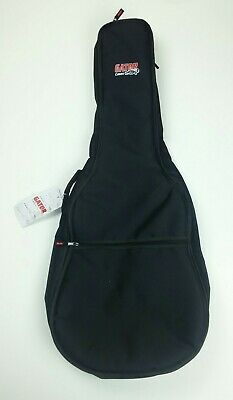 Gator Guitar Case Backpack Carrier Soft Black New with Tag Music Gear Travel Bag