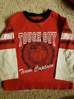 Boys t shirts lot of 2 long sleeved size 3T