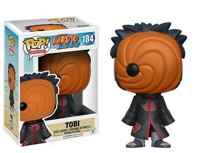 Funko - Pop Anime: Naruto: Shippuden - Tobi #184 Vinile Action Figure Nuovo in