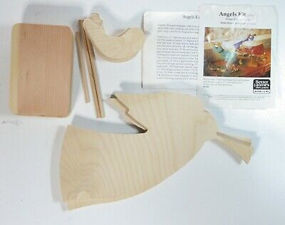Angels Better Homes and Gardens Christmas wood painting crafting kit 1995
