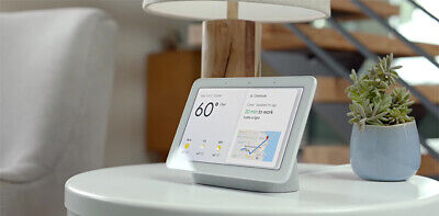 Google Home Hub with Google Assistant. Chalk or Charcoal. Brand New (Sealed Box)