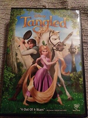Tangled Disney DVD 2011