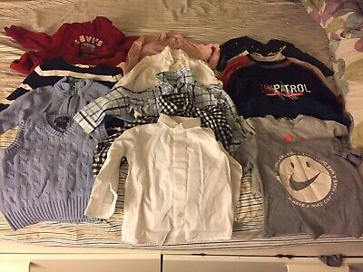Lot Of Boy Shirts 24months And 2t Nike, Ralph Lauren And More