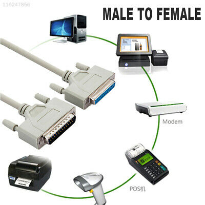 588F Extension Cable Quality Durable USB Cable Printer Parallel Split Transfer