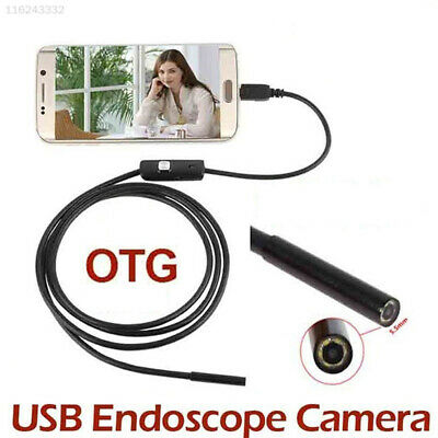 Endoscope Borescope USB Android Inspection Camera HD 6 LED Lens Waterproof Tube
