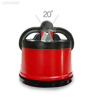 5D21 F0A6 Strong Sucker Knife Sharpener Grinder Secure Chef Tool Suction Pad New