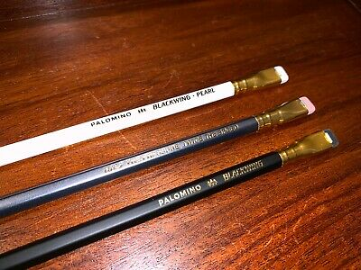 PALOMINO Blackwing Pencil Set Original 602 Pearl Black Grey White Three 3 total