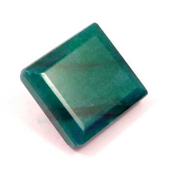Lab-created Dyed Faceted Emerald Cut Gemstone 124 ct 33x28  NG13128