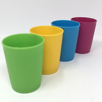 4 New Tupperware Toys Mini Tumblers Cups