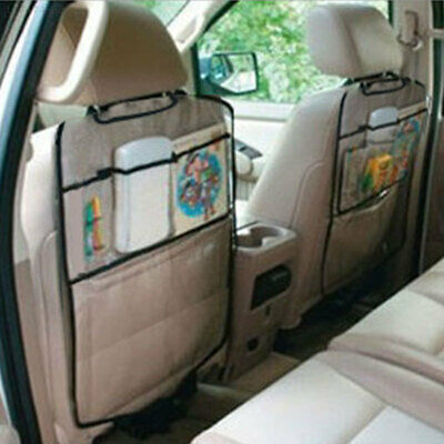 6BD4 Car Seat Protector Cover Transparent Kick Mat for Children Auto
