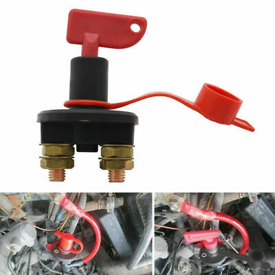 12V 24V Battery Car Truck Main Switch Disconnector Isolator Cut Off Power 300A