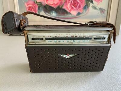 Collectable Vintage Sharp Transistor 8 Eight Bx-327 Radio Hayakawa Electric