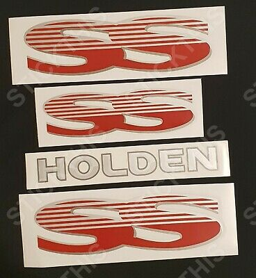 Holden VS Commodore SS Decal Sticker - Complete Body Kit ****SCREEN PRINTED****