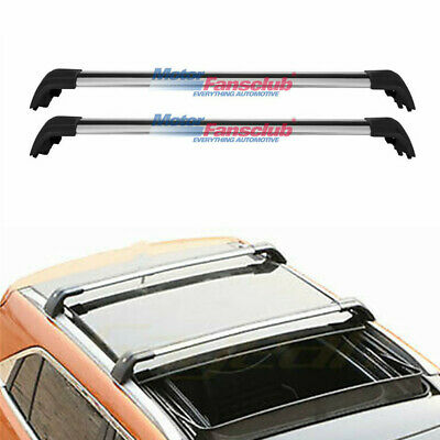 Top Roof Rack For 2010-2019 BMW X1 E84 Silver Baggage Luggage Cross Bar crossbar