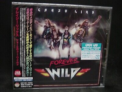 CRAZY LIXX Forever Wild + 1 JAPAN CD Hardcore Superstar Swedish Hard Glam Metal