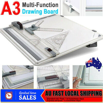 A3 Drawing Board Table with Parallel Motion Adjustable Angle Drafting