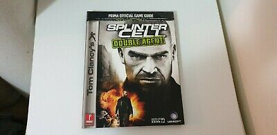 Tom Clancy's Splinter Cell Double Agent PS2 Prima Games Official Strategy Guide