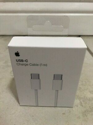 GENUINE Original Apple USB-C To USB-C Charge Cable OEM MLL82AM/A Model A1739 1M