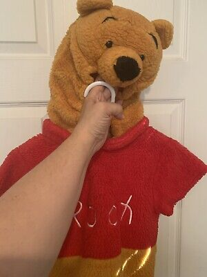 Disney By Disguise Winnie The Pooh Bear Costume Toddler Size 2T-4T