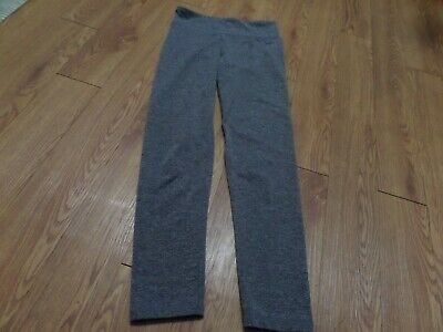 euc girls justice leggings gray-size 10-not worn alot